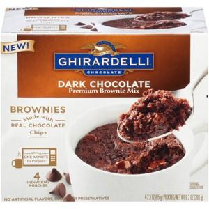 Ghirardelli Mug Brownies
