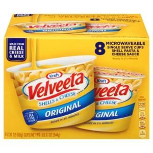 Kraft/Velveeta Mac & Cheese Cups