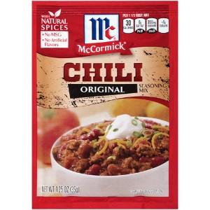 McCormick Chili Recipe Mix