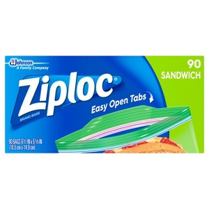 Ziploc Brand Bags and Containers