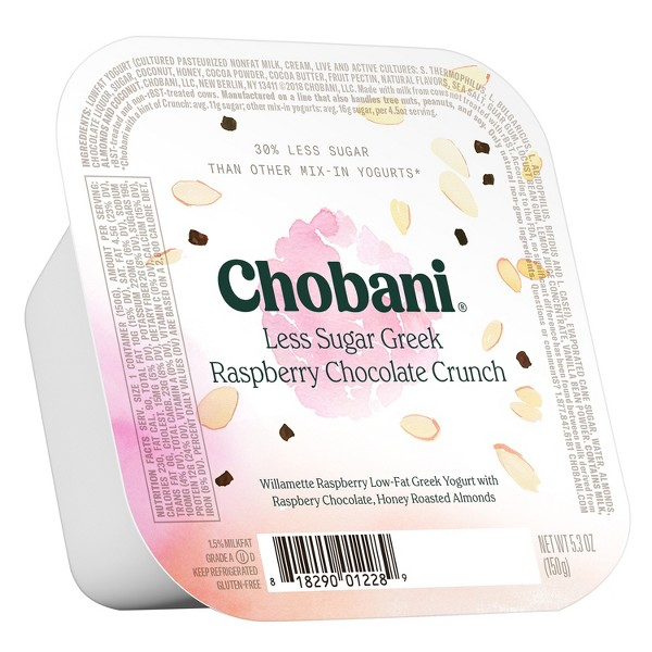 Chobani Less Sugar Greek / Crunch product image