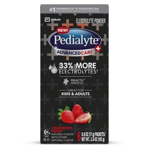 Pedialyte Powder Sticks