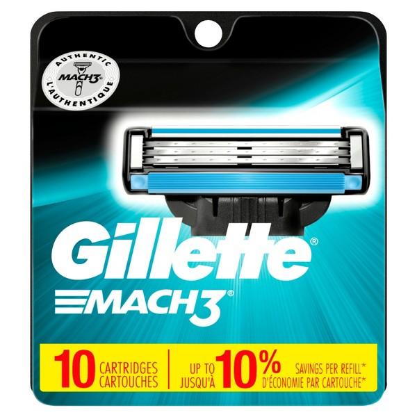 Gillette razor blades product image