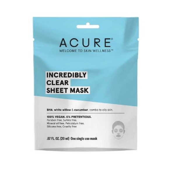 Acure Incredibly Clear Sheet Mask product image