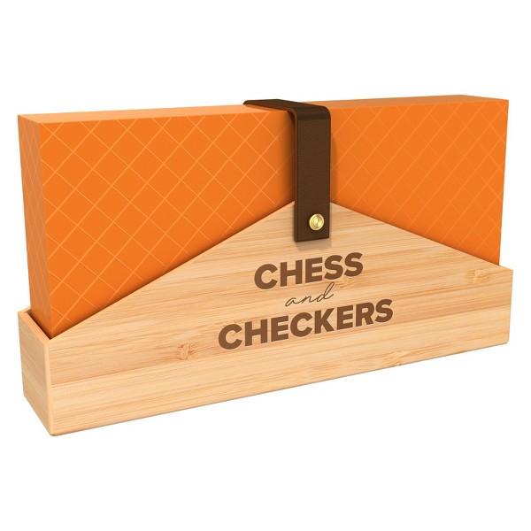 Pressman Designer Chess & Checkers product image
