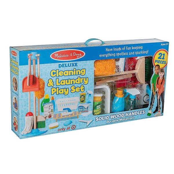 Deluxe Cleaning Play Set product image