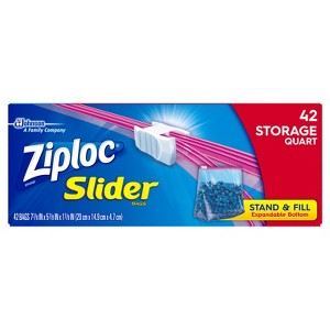Ziploc Brand Slider Bags