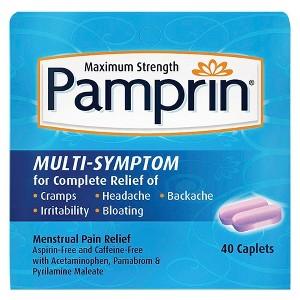 Pamprin Menstrual Pain Relief