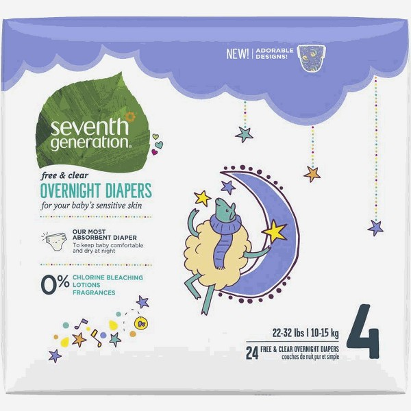 Seventh Generation Overnights product image