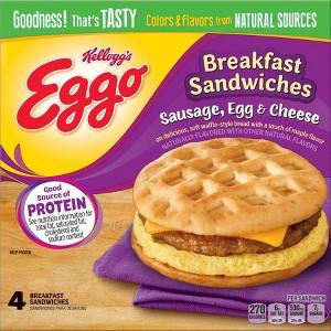 Eggo Breakfast Sandwiches