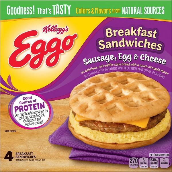 Eggo Breakfast Sandwiches product image
