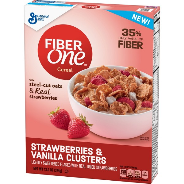Fiber One Strawberry Clusters product image