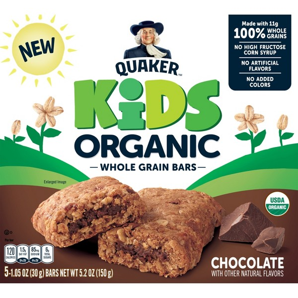 Quaker Kids Organic Bars product image