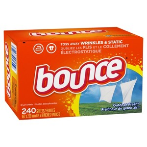 Bounce, Downy, Gain Dryer Sheets