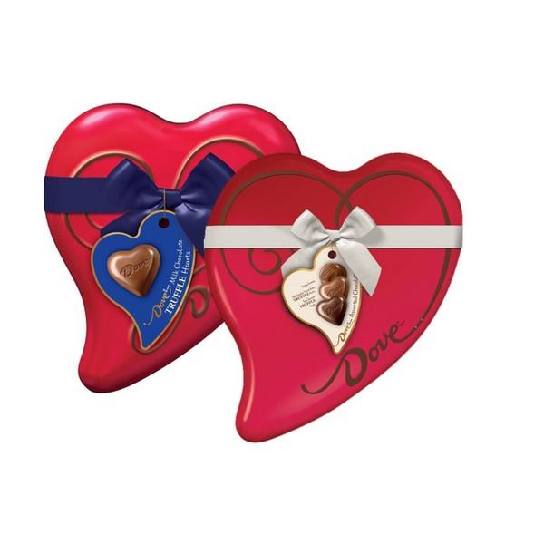 Dove Truffle Heart Tins product image