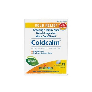 Boiron Coldcalm Cold Relief