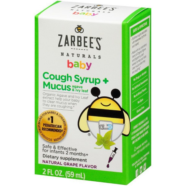 Zarbee's Naturals Baby Cough product image
