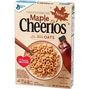 NEW Maple Cheerios