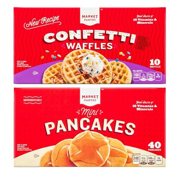 Market Pantry Frozen Waffles product image
