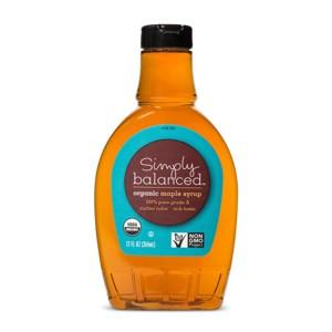 Simply Balanced Maple Syrup