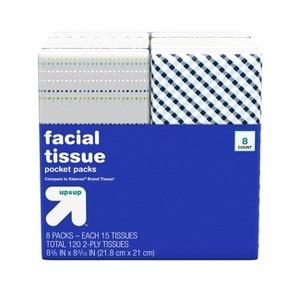 up & up Facial Tissue