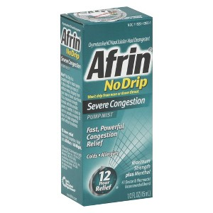 Afrin Nasal Congestion Spray