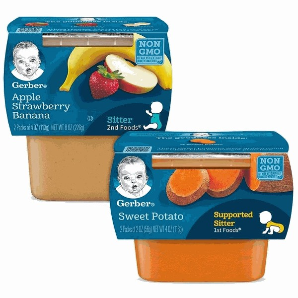 Gerber Puree 2-Pack Tubs product image