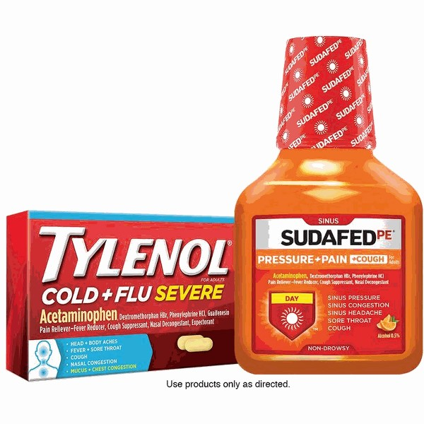 Tylenol Cold or Sudafed product image