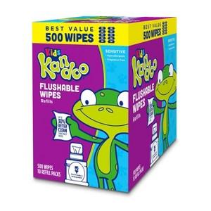Kandoo Flushable Wipes