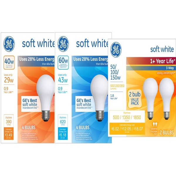 GE Appliance and Halogen Bulbs product image