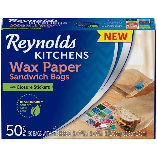Reynolds Wax Paper Sandwich Bags product image