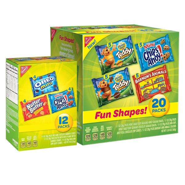 Nabisco Cookie/Cracker Multi-Packs product image