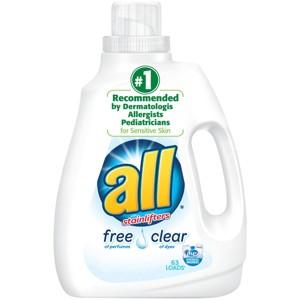 'all Brand Laundry Detergent