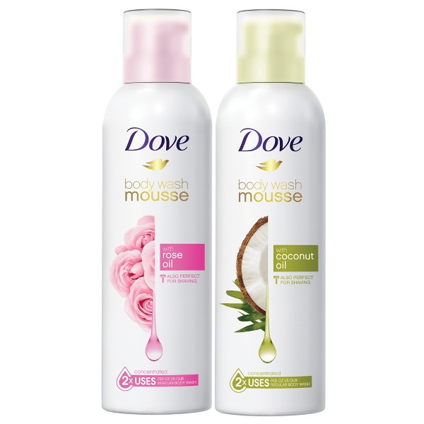 NEW! Dove Shower Mousse product image