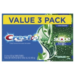 Crest + Scope Outlast Toothpaste