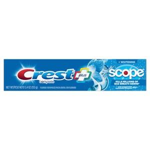 Crest+Scope Whitening Toothpaste