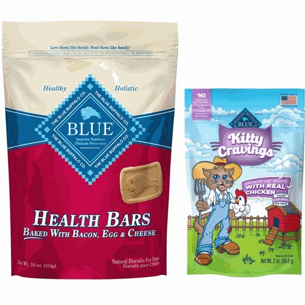 Blue Buffalo dog or cat treats product image