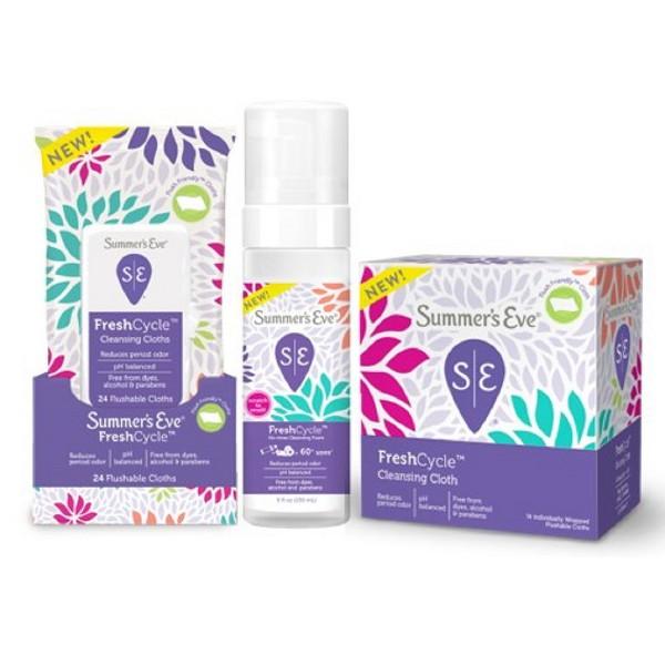 Summer's Eve FreshCycle product image