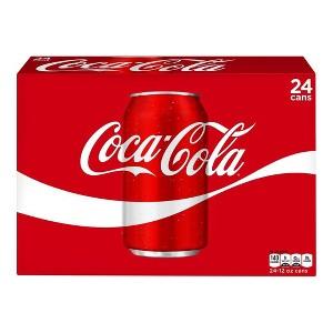 Coca-Cola 24 Pk Cans