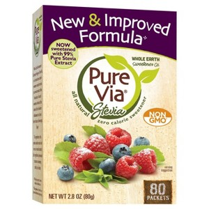 Pure Via All-Natural Sweeteners
