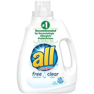 all Brand Laundry Detergent