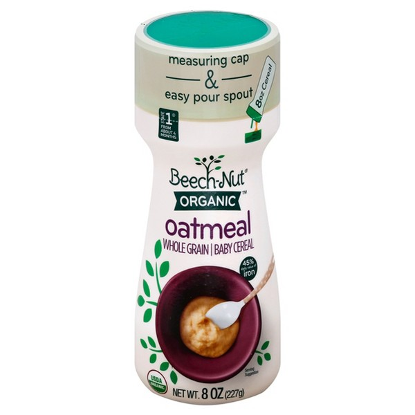 Beech-Nut Organic Oatmeal Cereal product image