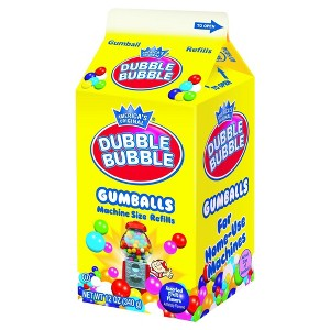 Dubble Bubble Gumball Carton