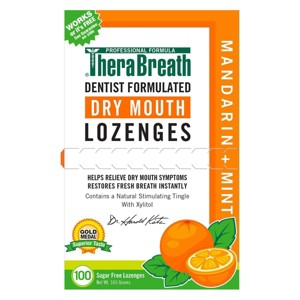 NEW Therabreath Dry Mouth Lozenge