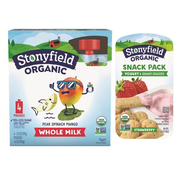 Stonyfield Kids Yogurt & snacks product image