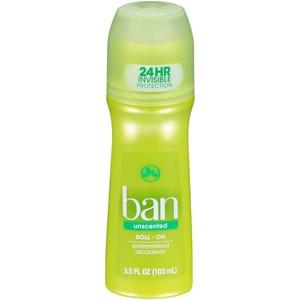 Ban Roll On Deodorants
