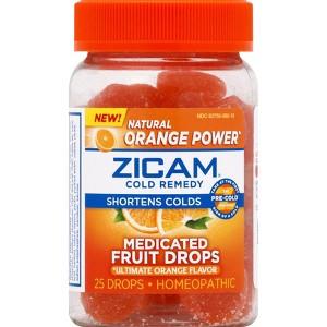 Zicam Medicated Drops