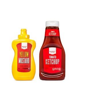 Market Pantry Ketchup & Mustard