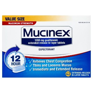Mucinex SE Max Strength