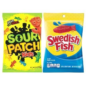 Swedish Fish & Sour Patch Kids Bag
